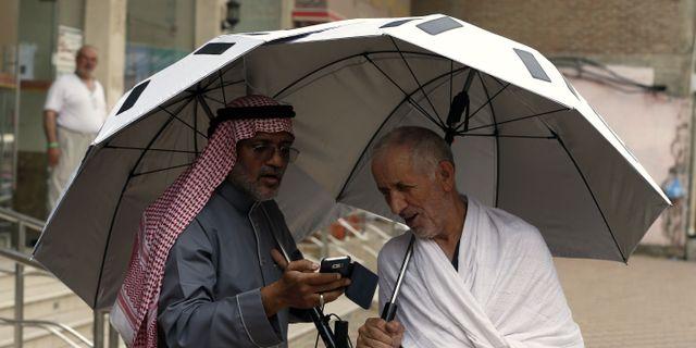 Ida 25 jag fick ett paraply pa kopet