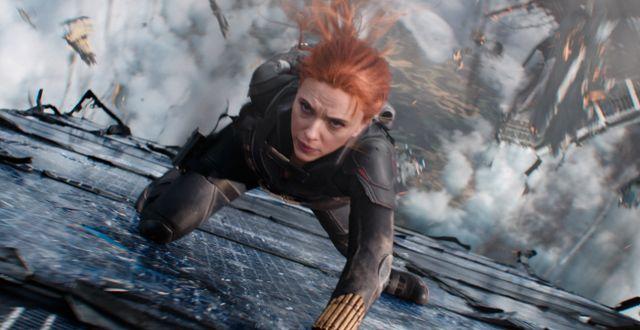 Scarlett Johansson i Black Widow. Marvel Studios / TT NYHETSBYRÅN