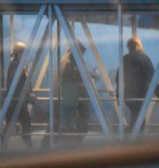 Kvinnorna landade på Arlanda 21 oktober. Fredrik Sandberg/TT / TT NYHETSBYRÅN
