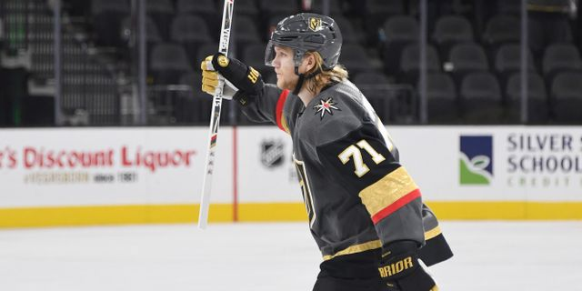 : William Karlsson.  Ethan Miller / GETTY IMAGES NORTH AMERICA