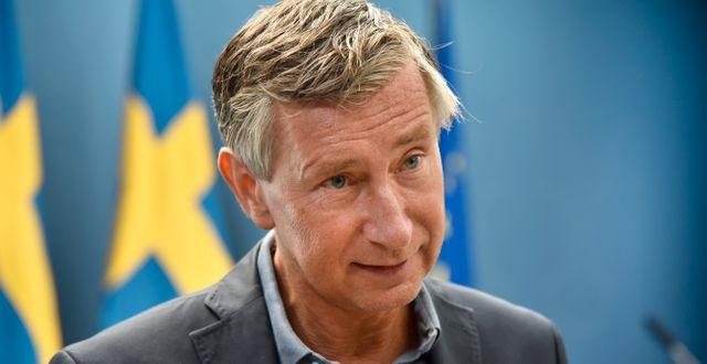 Vaccinsamordnare Richard Bergström.  Fredrik Sandberg/TT / TT NYHETSBYRÅN
