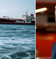 Stena Impero / Stena Bulks vd Erik Hånell. TT