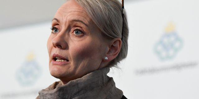 Karin Tegmark Wisell. Janerik Henriksson/TT / TT NYHETSBYRÅN