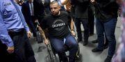 Hassan Zubier i rätten den 9 april. ANTTI AIMO-KOIVISTO / Lehtikuva