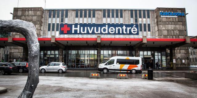 Karolinska universitetssjukhuset i Huddinge/Arkivbild. Helena Landstedt/TT / TT NYHETSBYRÅN