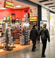 En teknikmagasinet-butik i Stockholm. Jonas Ekströmer/TT / TT NYHETSBYRÅN