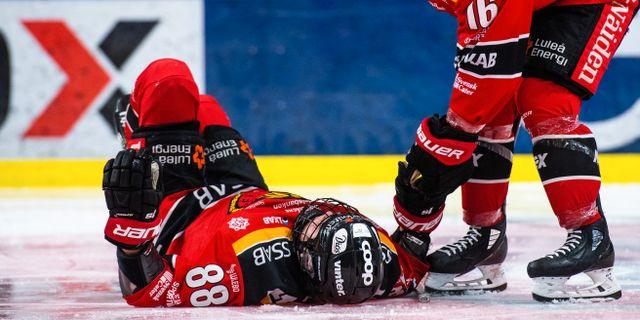 Ronja Savolainen svimmade. SIMON ELIASSON / BILDBYRÅN