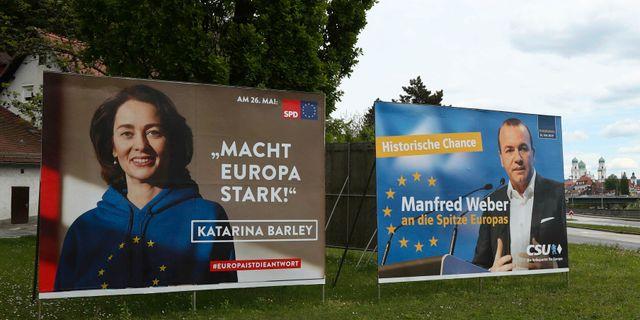 Valaffischer från Tyskland. Matthias Schrader / TT NYHETSBYRÅN/ NTB Scanpix