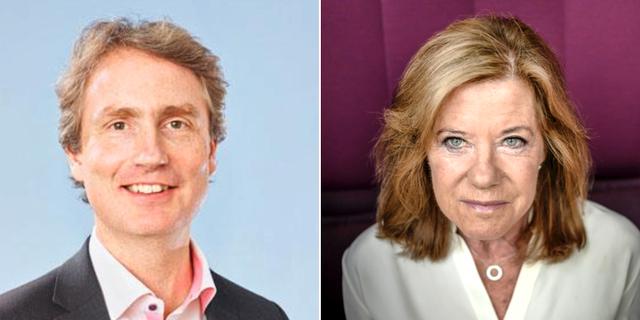 Erik Selin och Lena Apler. Pressbild och TT.
