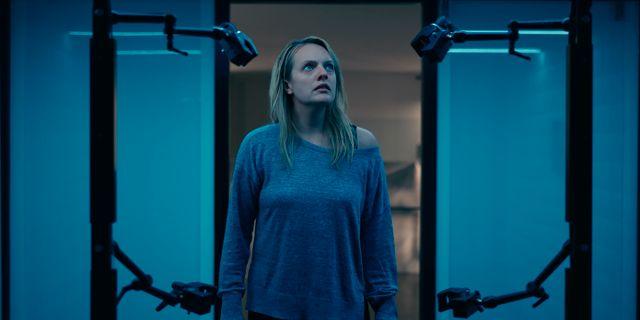 """Elisabeth Moss i """"The invisible man"""". TT NYHETSBYRÅN"""
