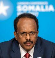 Somalias president Mohamed Abdullahi Mohamed Jack Hill / TT NYHETSBYRÅN