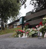 Huset där den 17-åriga flickan hittades död. Orn E. Borgen / TT NYHETSBYRÅN/ NTB Scanpix