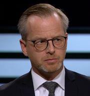 Mikael Damberg och Johan Forssell.  SVT