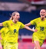 Sverige är vidare till semifinal.  DANIEL STILLER / BILDBYRÅN