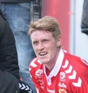 Rasmus Elm gick ut skadad. Patric Söderström/TT / TT NYHETSBYRÅN
