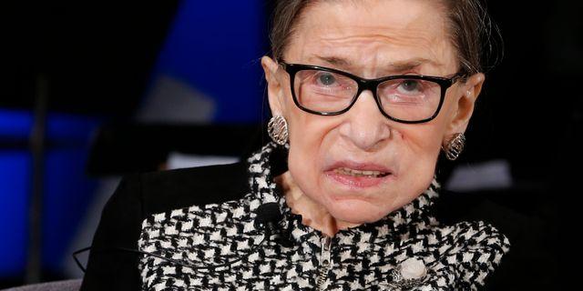 Ruth Bader Ginsburg. Steve Helber / TT NYHETSBYRÅN