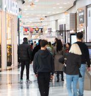 Mall of Scandinavia i slutet av oktober. Amir Nabizadeh/TT / TT NYHETSBYRÅN