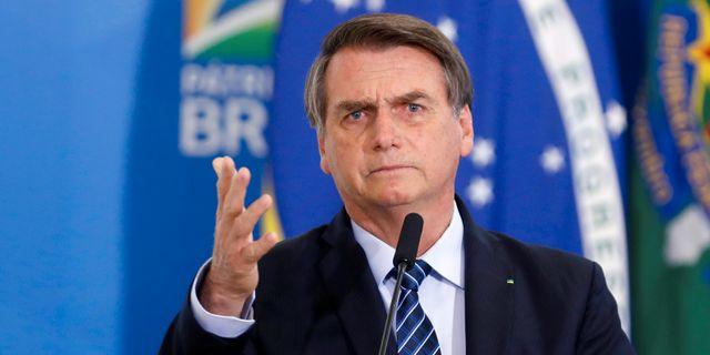 Jair Bolsonaro. Arkivbild. Adriano Machado / TT NYHETSBYRÅN