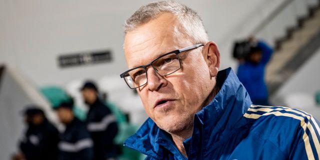 Janne Andersson, förbundskapten för svenska herrlandslaget i fotboll. CARL SANDIN / BILDBYRÅN