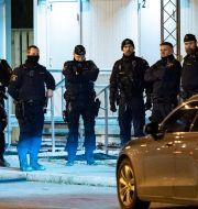 Svenska poliser. Johan Nilsson/TT / TT NYHETSBYRÅN