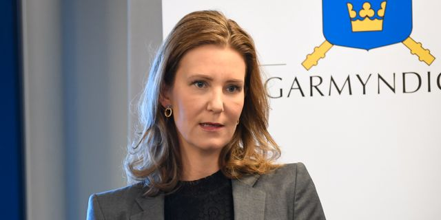 Emelie Källfelt. Fredrik Sandberg/TT / TT NYHETSBYRÅN