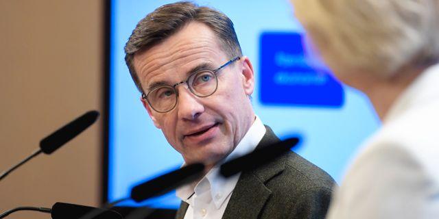 Ulf Kristersson.  Janerik Henriksson/TT / TT NYHETSBYRÅN
