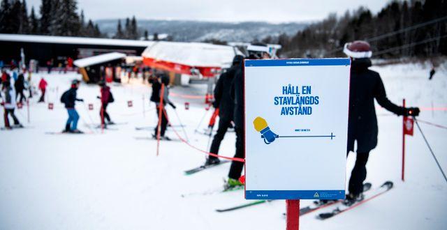 Arkivbild: Skidåkare i Åre Pontus Lundahl/TT / TT NYHETSBYRÅN
