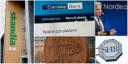 Svenska storbanker. TT
