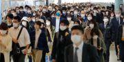 Pendlare i Tokyos kollektivtrafik.  ??? / TT NYHETSBYRÅN