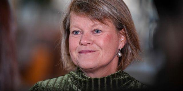 Ulla Andersson. Pontus Lundahl/TT / TT NYHETSBYRÅN