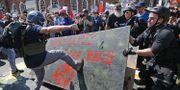 """Arkivbild (augusti 2017): Högerextremister och vita nationalister attackerade motdemonstranter under """"Unite the Right""""-upploppen i Charlottesville.  CHIP SOMODEVILLA / GETTY IMAGES NORTH AMERICA"""