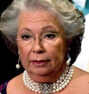 Strömparterren, prinsessan Christina på Nobelmiddag. Arkivbilder.  TT