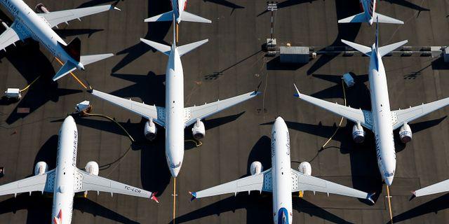 Arkivbild: Parkerade Boeingplan i Seattle, USA Lindsey Wasson / TT NYHETSBYRÅN