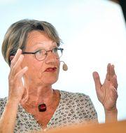 Gudrun Schyman (FI).  Vilhelm Stokstad/TT / TT NYHETSBYRÅN
