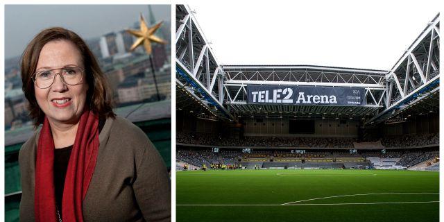 Madeleine Sjöstedt & Arenan. TT.