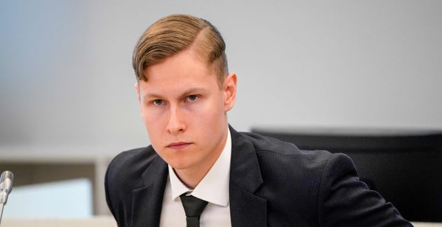 Philip Manshaus i rätten. LISE ASERUD / TT NYHETSBYRÅN