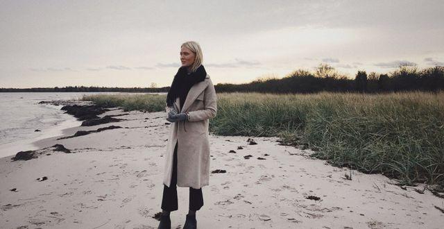 Victoria Berge på Gotland. Privat.