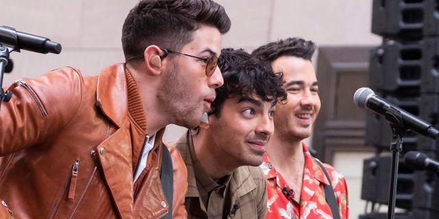 The Jonas Brothers. Charles Sykes / TT NYHETSBYRÅN/ NTB Scanpix