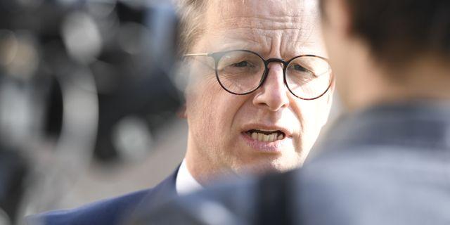 Mikael Damberg.  Henrik Montgomery/TT / TT NYHETSBYRÅN