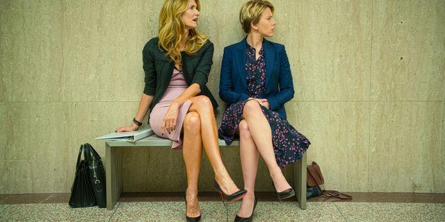 """Laura Dern och Scarlett Johansson i Netflixfilmen """"Marriage Story"""". Wilson Webb / TT NYHETSBYRÅN"""