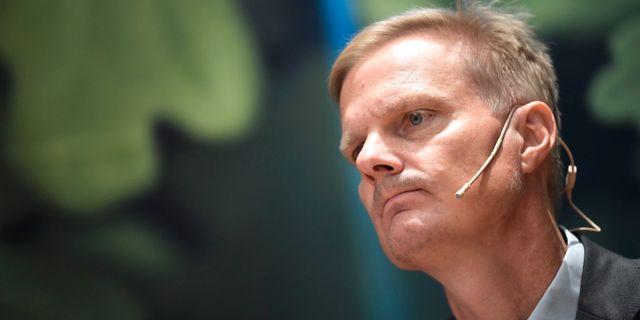 Jens Henriksson, ny vd på Swedbank.  Pontus Lundahl/TT / TT NYHETSBYRÅN