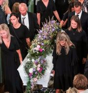 Skofteruds begravning.  Teigen, Trond Reidar / TT NYHETSBYRÅN