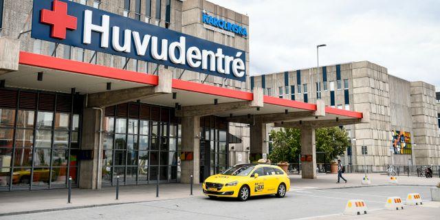 Karolinska sjukhuset i Huddinge.  Erik Simander/TT / TT NYHETSBYRÅN