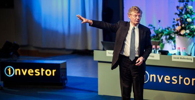 Jacob Wallenberg på Investors årsstämma 2019.  Simon Rehnström/SvD/TT / TT NYHETSBYRÅN