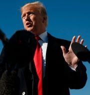 Trump får stöd. Carolyn Kaster / TT NYHETSBYRÅN/ NTB Scanpix