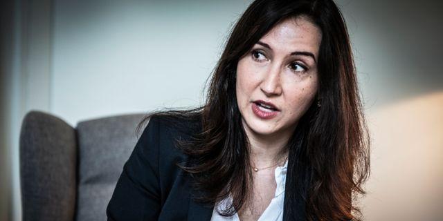 Aida Hadzialic (S). Yvonne Åsell/SvD/TT / TT NYHETSBYRÅN