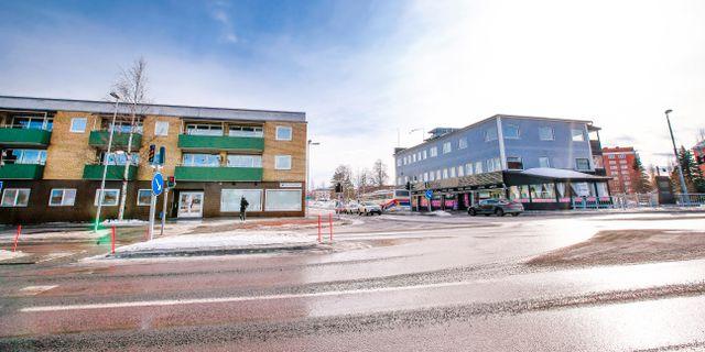 Arbetsförmedlingen i Boden, ett av de kontor som lagts ner. Petra Älvstrand/TT / TT NYHETSBYRÅN
