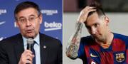 Josep Maria Bartomeu/Lionel Messi Bildbyrån