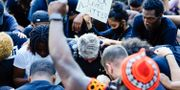 Protester i USA. Philip B. Poston / TT NYHETSBYRÅN