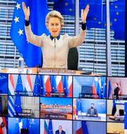 EU-möte. Olivier Matthys / TT NYHETSBYRÅN
